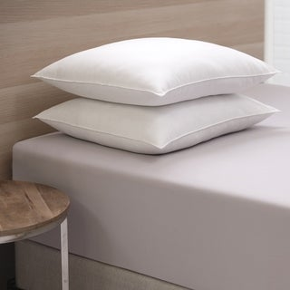 Link to Cozy Classics Mega Bounce Back Pillow Set of 2 - White Similar Items in Pillows