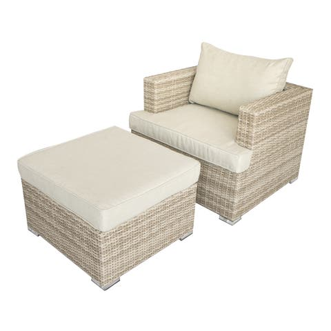 Astonishing Chair Ottoman Sets Patio Furniture Find Great Outdoor Uwap Interior Chair Design Uwaporg