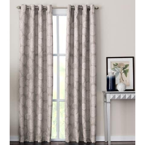 Porch & Den Fricke Grommet-top Curtain Panel