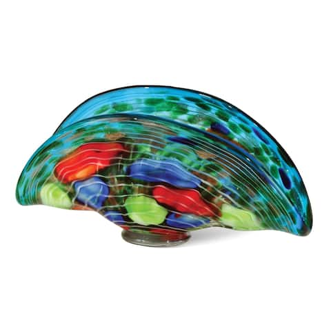 "Springdale 13.5""W Colchester Art Glass Bowl"