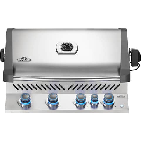 Napoleon Built-in Prestige® 500 Gas Grill Head with 4 Main Burners and an Infrared Rear Burner, Rotisserie Kit Included
