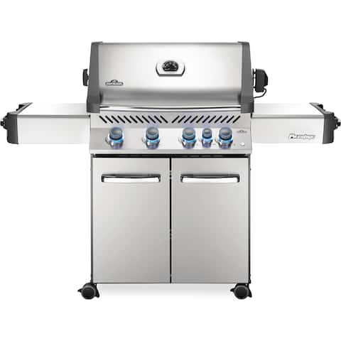 Napoleon Prestige® 500 Gas Grill with 4 Main Bruners and Infrared Rear Burner, Rotisserie Kit Included
