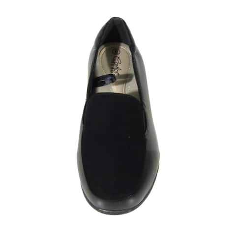 BLUE Womens Bogin Tall Black Casual Loafers