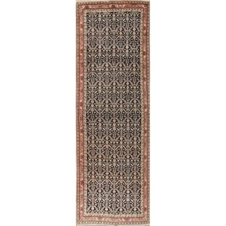 "Antique Sultanabad Persian Hand Knotted Wool Oriental Runner Rug - 13'3"" x 4'4"" Runner"
