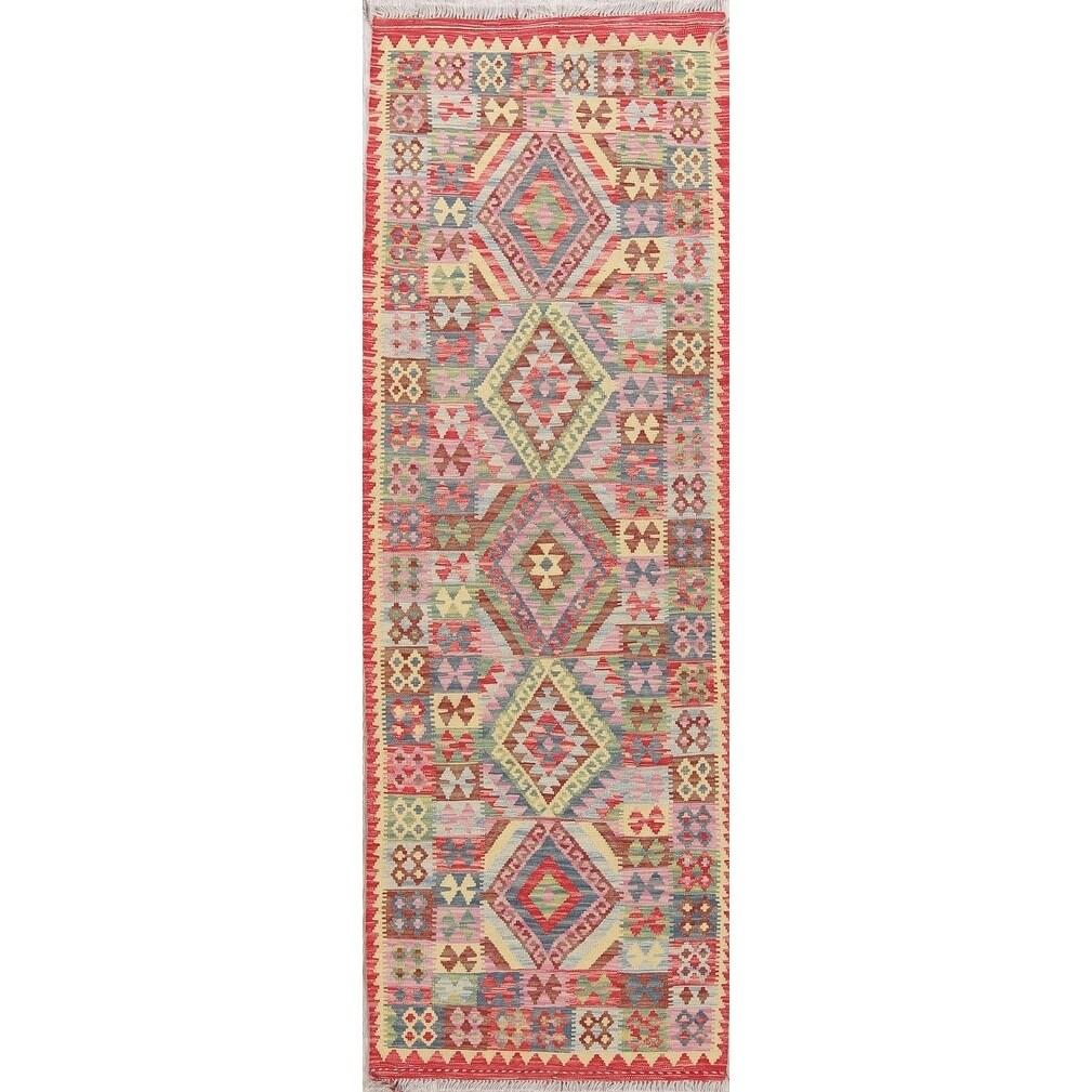 Hand Woven Tribal Turkish Kilim