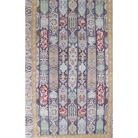 """Palace Sized Wool/Silk Nain Persian Hand Knotted Oriental Area Rug - 26'0"""" x 16'1"""""""