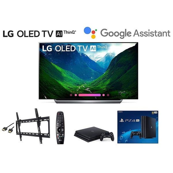 Shop Black Friday Deals On Lg Oled77c8pua 77 Inch Class 4k Smart Oled Tv W Ps4 Pro 4k W Wall Mount Kit W Hdmi Cable Overstock 28123632
