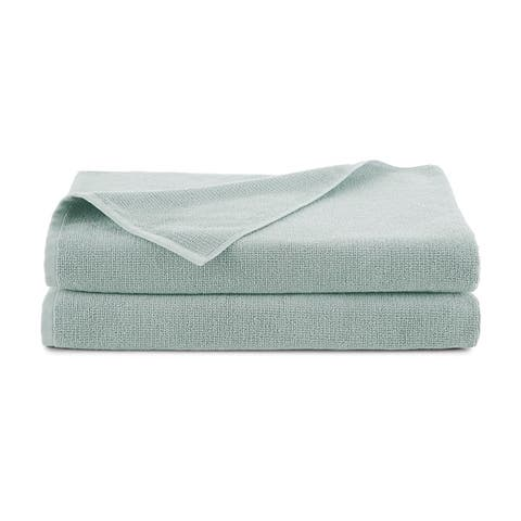 EcoPure Serene Organic Cotton 2 Piece Bath Sheet Towel Set