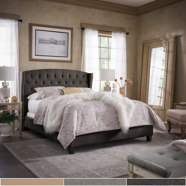 Yolanda Tufted Wingback Bed by iNSPIRE Q Classic