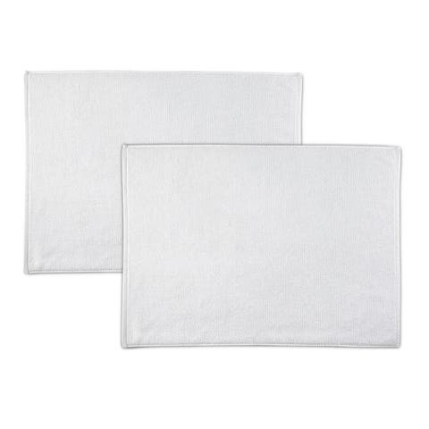 "EcoPure Serene Organic Cotton 2 Piece Tub Mat Set - 24""W x 34""L"