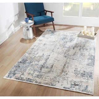 Porch & Den Quarry Modern Blue Area Rug