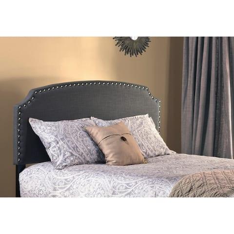 Copper Grove Wurzach Dark Grey Linen-upholstered Headboard