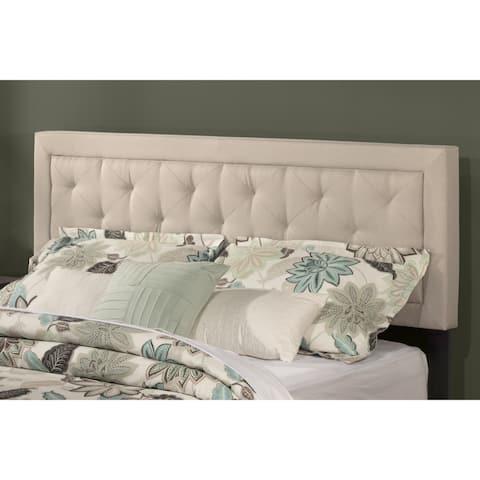 La Croix Headboard (Bed Frame Included) Fog Fabric
