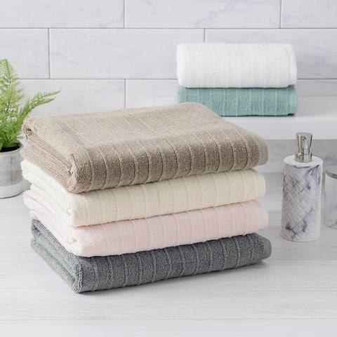Porch & Den Lola Cotton Quick Drying 6-piece Towel Set