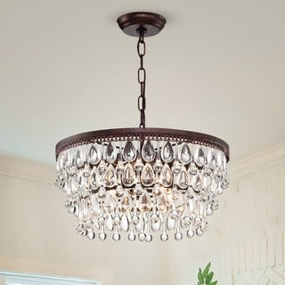 Link to Shuki Antique Copper 4-light Chandelier Similar Items in Chandeliers