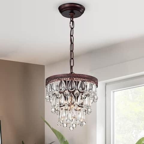 Eresu Antique Copper 3-light Chadnelier