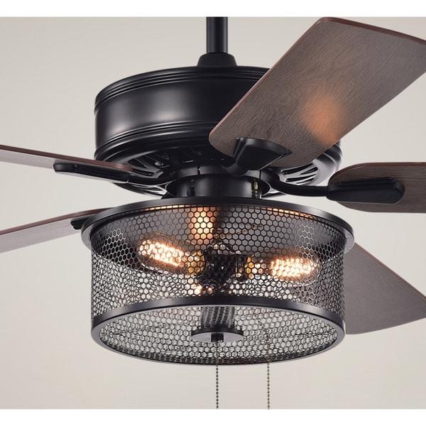 Shop Safavieh Lighting 52 Inch Fredrick Ceiling Light Fan