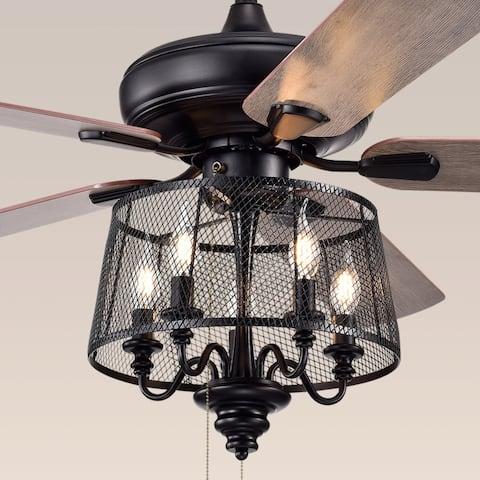 Safavieh Lighting 52-Inch Jonie Ceiling Light Fan
