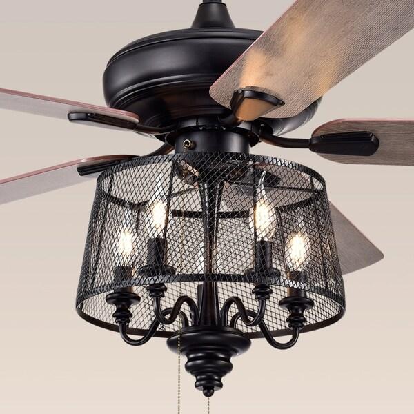 Shop Safavieh Lighting 52 Inch Jonie Ceiling Light Fan