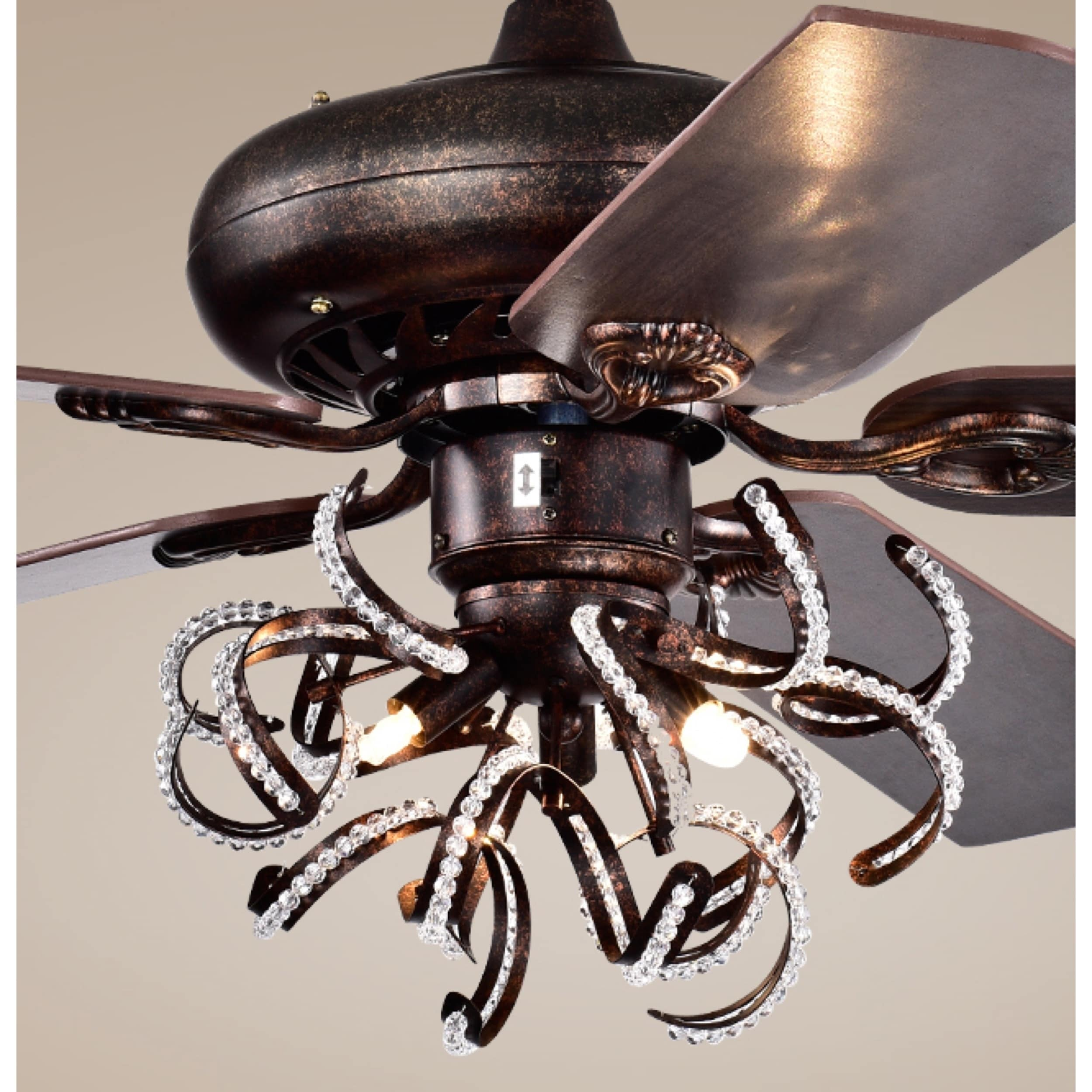 Safavieh Lighting 52-Inch Sensa Ceiling Light Fan (with Remote)