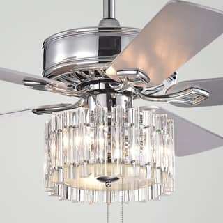 Safavieh Lighting 52-Inch Dresher Ceiling Light Fan (with Remote)