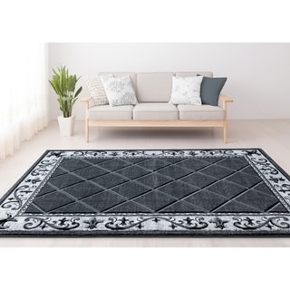 Porch & Den Darla Kay Hand-Carved Area Rug