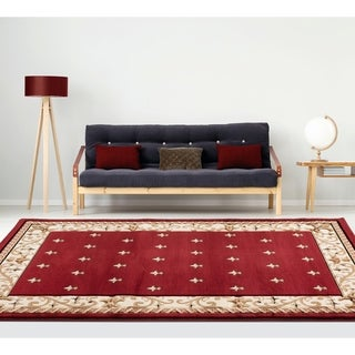 Porch & Den Cuthill Hand-Carved Area Rug