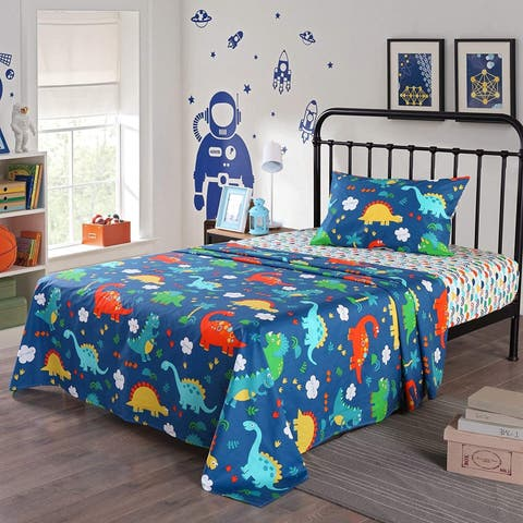 Porch & Den Duncan Dinosaur Sheets