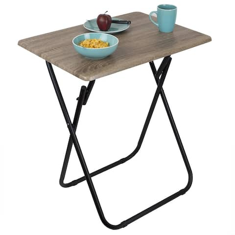 Jumbo Multi-Purpose Foldable Table, Rustic