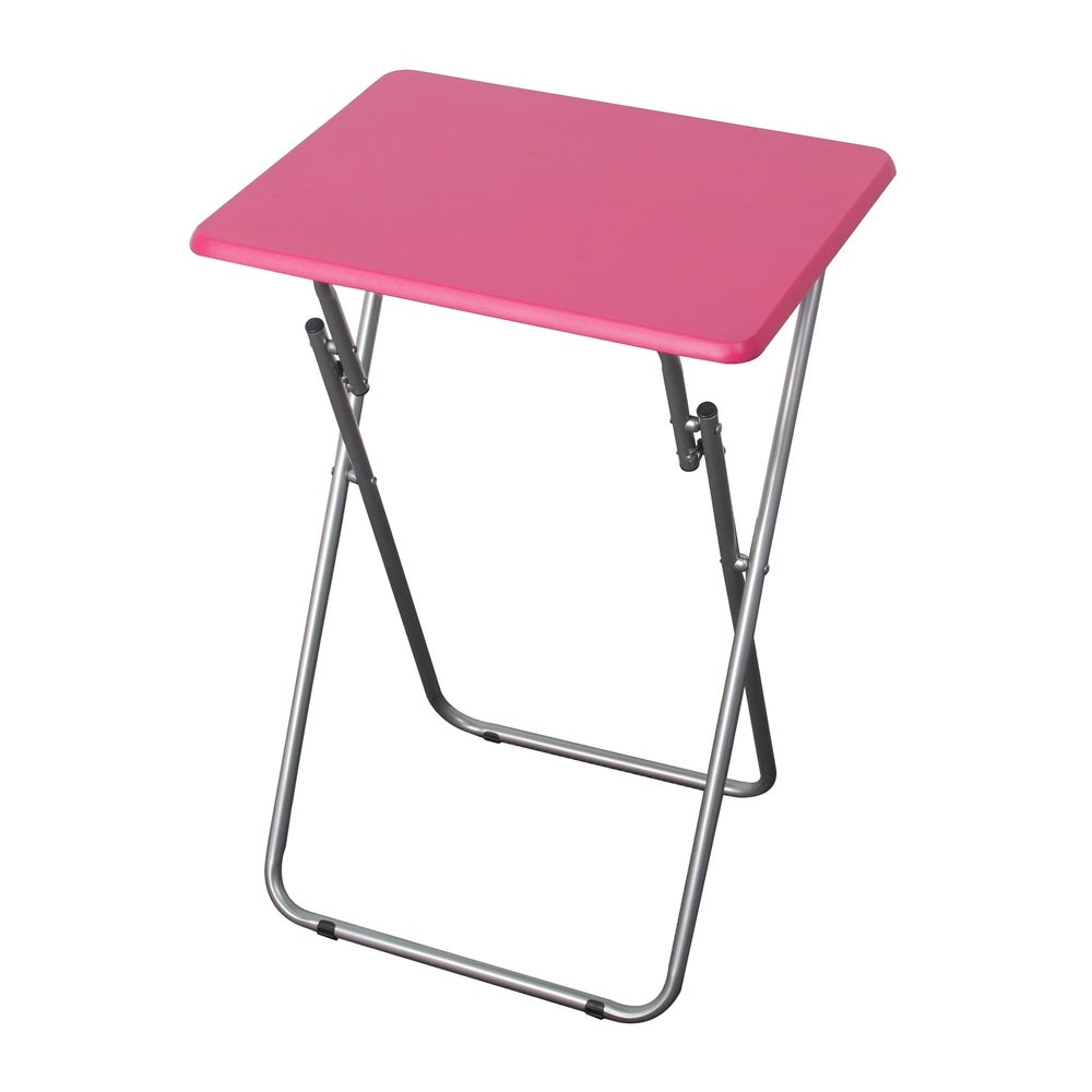 Multi-Purpose Foldable Table, Pink