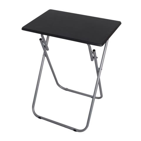 Multi-Purpose Foldable Table, Black