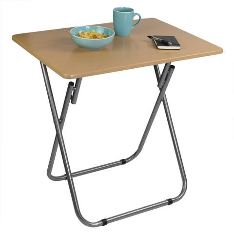 Jumbo Multi-Purpose Foldable Table, Natural