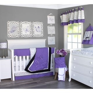 Sweet Butterfly Crib Baby Bedding Set by Pam Grace Creations