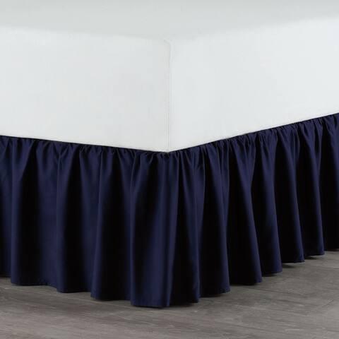 Martex Solid Ruffle Bed Skirt