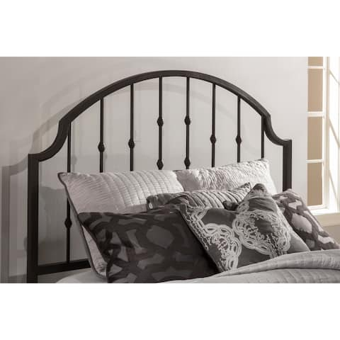 Copper Grove Fallingbostel Distressed Black Metal Traditional Headboard (Frame Not Included)