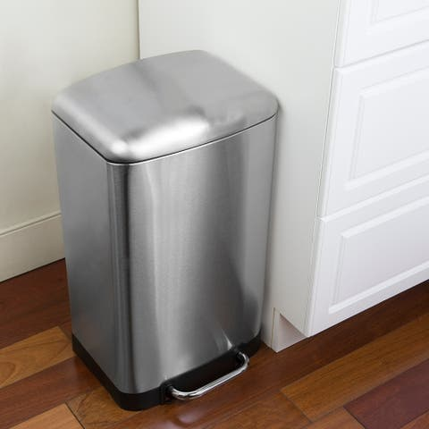 30 Liter Soft-Close Waste Bin