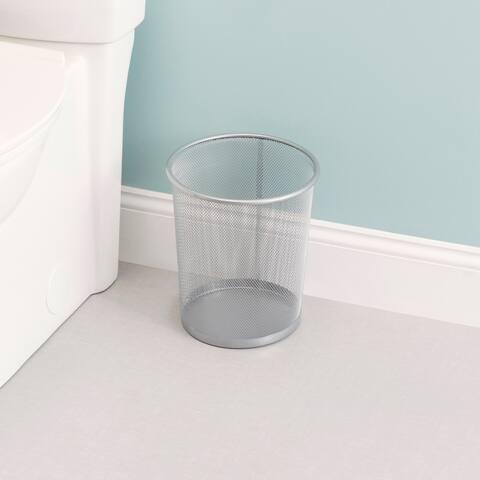 6 Liter Mesh Steel Waste Basket