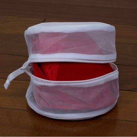 Sunbeam Micro Mesh Wash Bag, White