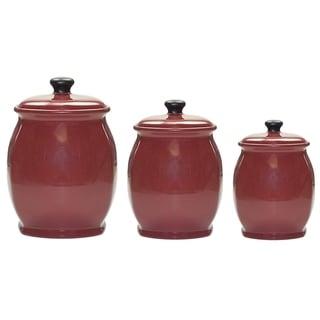 hearthstone red canister set/3      16oz, 26oz, 51oz