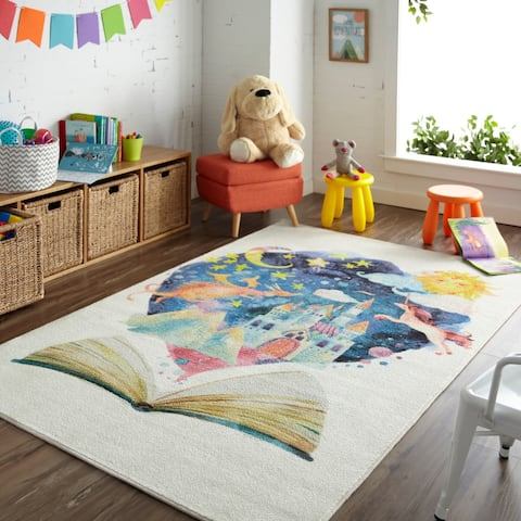 "Mohawk Prismatic Tell Me A Story Area Rug - 3'4"" x 5'"