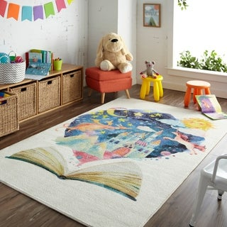 """Mohawk Prismatic Tell Me A Story Area Rug - 3'4"""" x 5'"""
