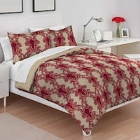 Utica Fay Multi Cotton Comforter Set