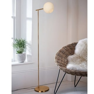 Link to Miko Polished Brass 1-light Floor Lamp Similar Items in Floor Lamps