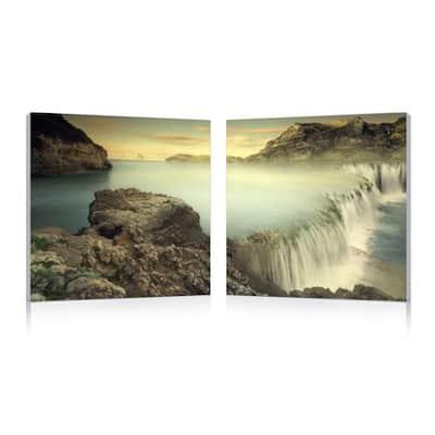 UNBRIDLED POWER Frameless Canvas Wall Art - Multi