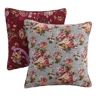 Greenland Home Fashions Antique Chic Pillow Set (Set of 2)