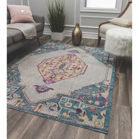 Bend Soft Touch Transitional Vintage Area Rug