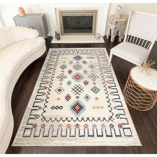 Porch & Den Banks Gabbeh Tribal Moroccan Area Rug