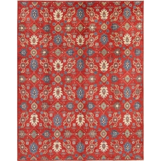 "Traditional Pakistan Oriental Kazak Hand Knotted Area Rug Wool - 10'1"" x 7'10"""