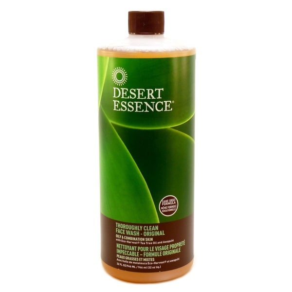 Shop Thoroughly Clean Face Wash Tea Tree Oil By Desert Essence 32