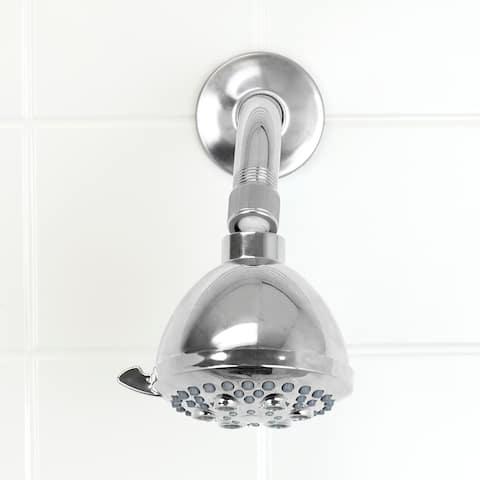 Sunbeam Indulge 5 Function Fixed Shower Head, Chrome